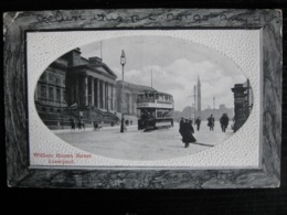 William Brown Street, Liverpool, Lancashire - Posted 1911 - Liverpool
