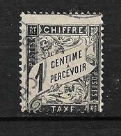 "FRANCE  1891/92  TAXE  N° 10     "" Type DUVAL ""  Oblitéré - 1859-1955 Oblitérés"
