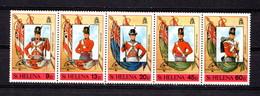 SAINT  HELENA    1989    Philexfrance  International  Stamp  Exhib    Strip  Of  5    MNH - Saint Helena Island
