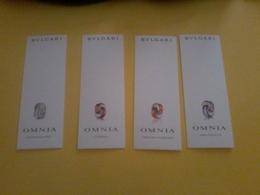 Carte Serie Omnia Bulgari - Cartes Parfumées