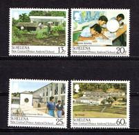 SAINT  HELENA    1989    New  Prince  Andrew  Central  School    Set  Of  4    MNH - Saint Helena Island