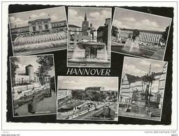 Postkarte Hannover, 60er Jahre, Gelaufen - Hannover