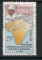 MALI- Y&T N°31- Oblitéré - Mali (1959-...)
