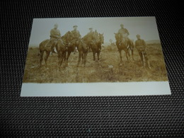 Elsenborn ( Kamp  Camp ) Soldats  Soldat  Soldaten  Soldaat  Militairen  Militair - Carte Photo - Elsenborn (Kamp)