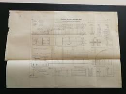 ANNALES PONTS Et CHAUSSEES (Dep 42) - Maçonneries Avec Joints Métalliques Coulés  - Imp.L.Courtier - 1899 - (CLB45) - Architecture