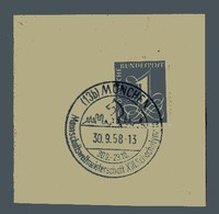 65a  Special Postmark30.9-23.10.1958West Germany, Munich13th Chess Olympiad - Scacchi