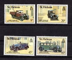 SAINT  HELENA    1989    Early  Vehicles    Set  Of  4    MNH - Saint Helena Island