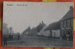 Belleghem - Bellegem - Gehucht De Kat - 17743 - Uit. De Vaere-Foulon - Vers 1910 - Kortrijk