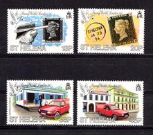 SAINT  HELENA    1990    International  Stamp  Exhib    Set  Of  4    MNH - Saint Helena Island