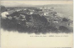 CPA Dept 83 LA NAPOULE Dos 1900 - France