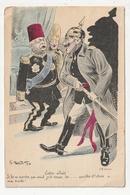 CARTE HUMORISTIQUE - GUERRE1914/18 - ENTRE ALLIES.......... - G. MOUTON 1914 - Autres Illustrateurs