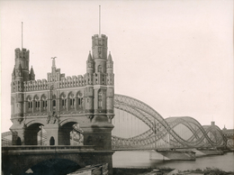 Albumen Photograph - GERMANY Hamburg - 19th Century (29x22cm) - Antiche (ante 1900)