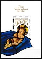 Bloc Feuillet Neuf** De 1 Timbre-poste - Noël 1978 Vitrail De La Frauenkirche à Munich - N° BF 16 (Yvert) - RFA 1978 - [7] Repubblica Federale