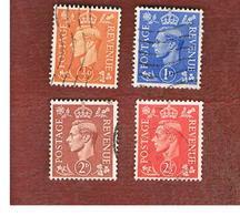 GRAN BRETAGNA (UNITED KINGDOM) -  SG 503.507  - 1951 KING GEORGE VI     - USED° - Usati