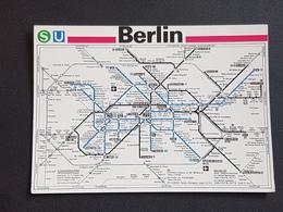 Berlin S/U Bahn-Netz (nicht Gelaufen ,ca. 1995),  H23 - Unclassified