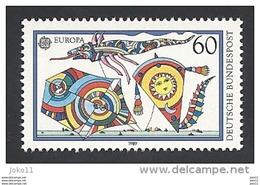 Deutschland, 1989,  Mi.-Nr. 1417, **postfrisch - Neufs