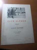 Paul Braunagel. Zuem Klêwer Gedicht Vum Albert Matthis. Alsace-Strasbourg - Livres, BD, Revues