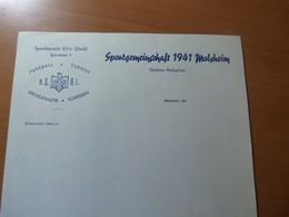 Sportgemeinschaft 1941 Molsheim. Alsace.Football-Gymnastique... - Livres, BD, Revues