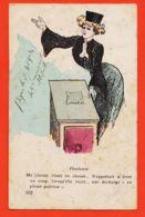 Nw6263 Métier AVOCAT Plaidoirie Humour Coquin Cliente Chasse Tirer Un Coup Décharge Pleine Poitrine 1908à Marius FOURES - Métiers