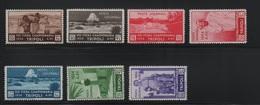 Libia 1934 VIII Fiera Di Tripoli Serie Cpl S.G. - Libya