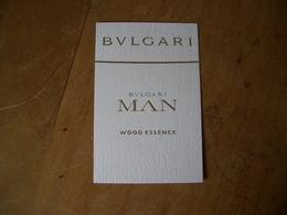 Carte Bulgari Man Wood Essence* - Modern (from 1961)