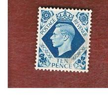GRAN BRETAGNA (UNITED KINGDOM) -  SG 474   - 1939 KING GEORGE VI 10     - USED° - Usati