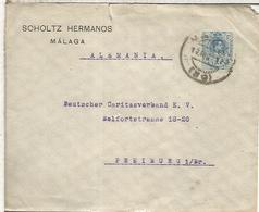 MALAGA A ALEMANIA CC SCHOLTZ HERMANOS VINO WINE ENOLOGIA ALFONSO XIII - Vinos Y Alcoholes