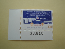 1989 France  Yv 2589  ** MNH - UIT à Nice Cote 1.70 € Michel 2719 Scott 2154 Télécom - France
