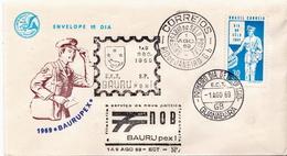 Brazil Stamp On FDC - Post