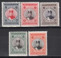 1924-1925 Yvert Nº 467, 469, 470, 471, 472,  /**/ - Iran