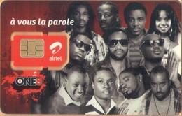 Congo (Kinshasa) - CD-AIR-GSM-0001, Airtel - GSM / SIM, Airtel-a Vous La Patrole, It's Your Turn To Speak, One8, Mint - Congo