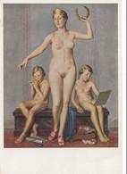 Ansichtskarte: München, Haus Der Deutschen Kunst - Göttin - Germany