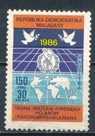 °°° MADAGASCAR - Y&T N°783 - 1986 °° - Madagascar (1960-...)