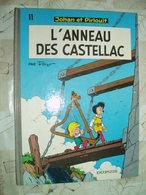 JOHAN ET PIRLOUIT -L ANNEAU DE CASTELLAC -NO 11-DUPUIS 1985 - Johan Et Pirlouit