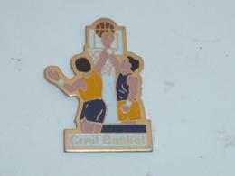 Pin's CLUB DE BASKET DE CREIL - Basketball