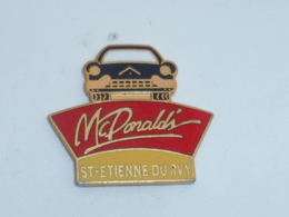 Pin's MAC DONALD DRIVE DE SAINT ETIENNE DU ROUVRAY - McDonald's