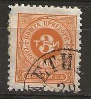 Montenegro Taxe Yvert N° - Montenegro