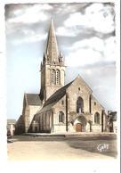 Montebourg  (50 - Manche)  L'église Saint Jacques - Francia