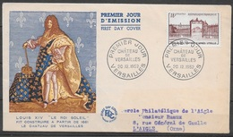 T 00455 - France 1952, FDC Versailles - FDC