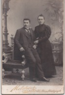 Vintage Photographie - R. MELCHERS - CHARLEROI - Rue De Montigny,6  108X168mm D - Old (before 1900)
