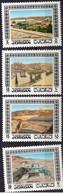 JORDAN/1973/MNH/SC#729-732/DEVELOPMENT PROJECTS - Jordan