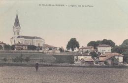 CPA 38 @ SAINT HILAIRE Du ROSIER En 1910 - L'Eglise Vue De La Plaine - France