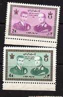 1965 Norway Kings Visit MNH Mi 1239-40  (162) - Iran