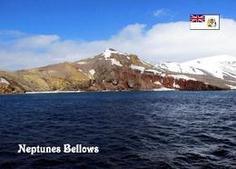 Antarctica Deception Island Neptunes Bellows New Postcard Antarktik AK - Ansichtskarten