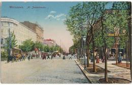 Warszawa - Al. Jerozolimska - & Tram - Polonia