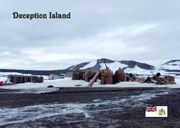 Antarctica Deception Island Whaling Station New Postcard Antarktik AK - Ansichtskarten