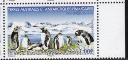 TAAF ,  FRENCH ANTARCTIC, 2019, MNH,PENGUINS, 1v - Pinguini