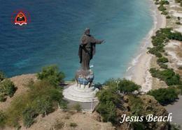 AK Osttimor East Timor Jesus Beach Monument New Postcard - East Timor