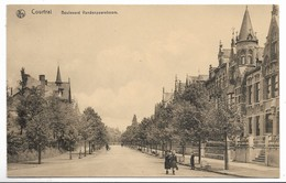 CPA PK  COURTRAI  BOULEBARD VANDENPEEREBOOM - Belgique