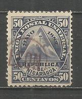 NICARAGUA YVERT NUM. 19 USADO - Nicaragua